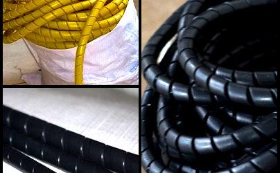 Mola Plástica / Tubo Espiral